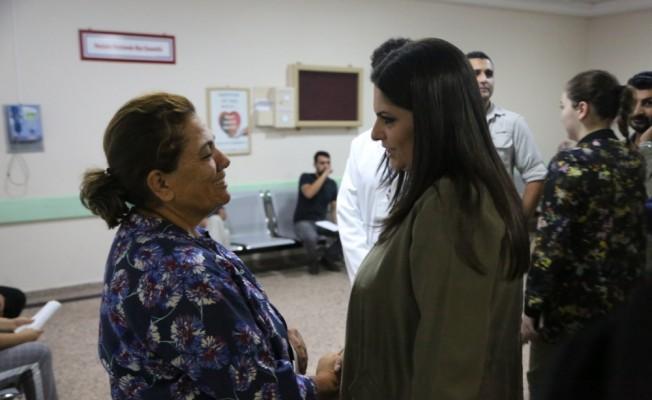 AK Parti Genel Başkan Yardımcısı Sarıeroğlu'ndan hastane ziyareti