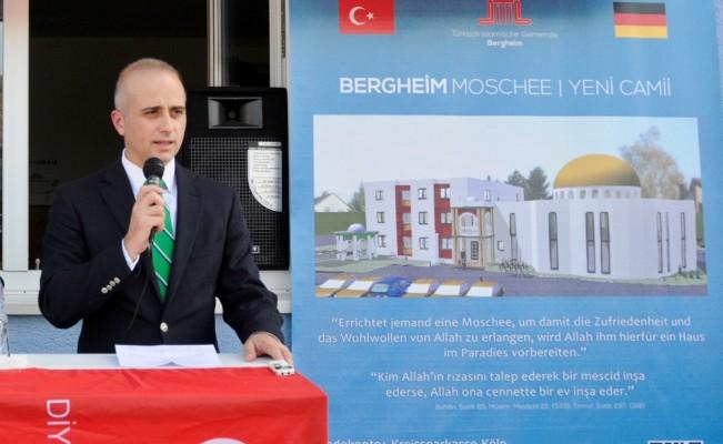 Almanya'da Bergheim Camisi ve Kültür Merkezi'nin temeli atıldı