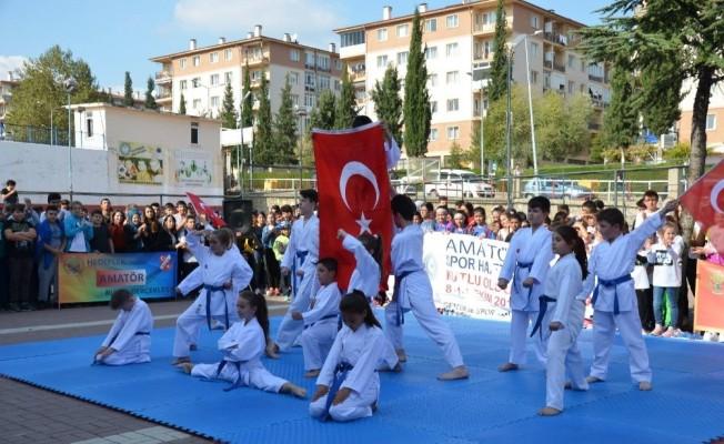 Amatör Spor Haftası etkinliklerle kutlandı