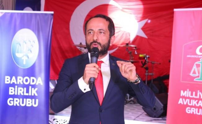 "Ankara Barosu Başkan adayı Özdemir: ""Ankara Barosu'nun bu yapıdan kurtulma vakti geldi"""