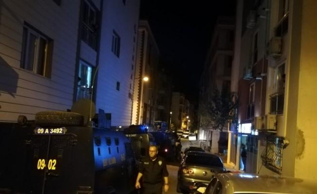 Aydın'da hareketli saatler... Polisten kaçan şahıs inşaata saklandı