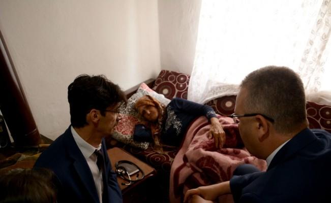 Belediye yaşlı kadına yardım eli uzattı