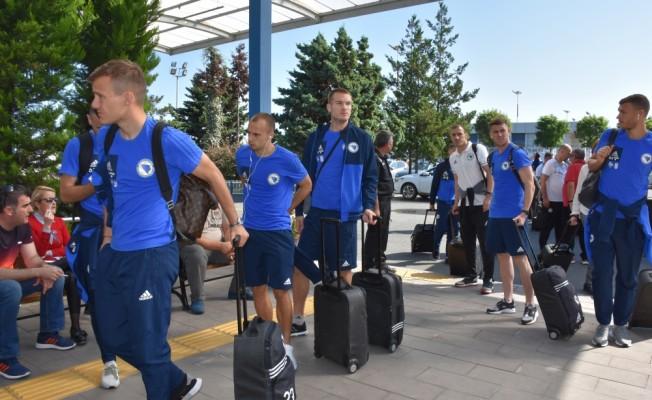 Bosna Hersek A Milli Futbol Takımı, ülkesine gitti