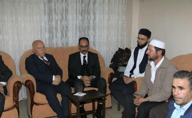 Cumhurbaşkanlığı Sözcüsü İbrahim Kalın'ın amcası son yolculuğuna uğurlandı