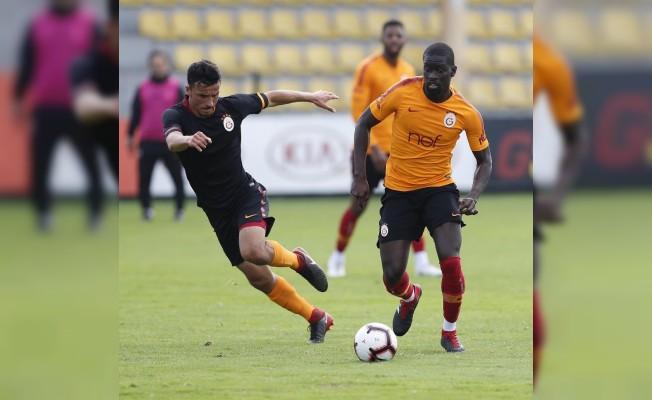 Galatasaray, U21 Takımı ile hazırlık maçı yaptı