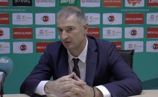 Gaziantep Basketbol-Banvit maçının ardından