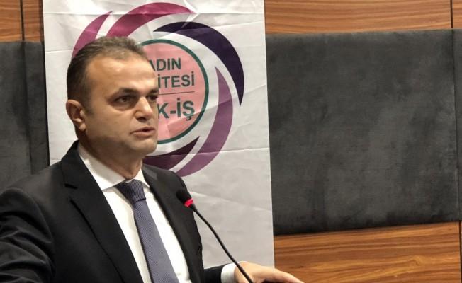 """HAK İŞ Genel Sekreteri Dr. Osman Yıldız, """"Çatışmayı değil çalışmayı esas alan bir konfederasyonuz"""""""