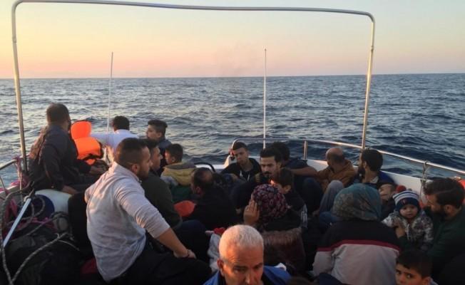 """İçişleri Bakanlığı: """"574 göçmen yakalandı, 8 göçmenin cansız bedenine ulaşıldı"""""""