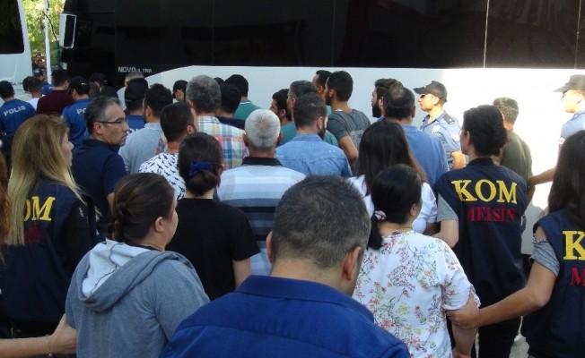 Mersin'deki ilaç vurgunu zanlılarından 23'ü tutuklandı