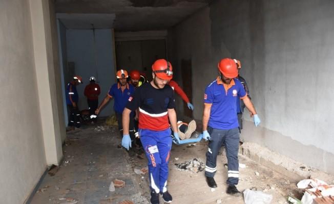 Muş'ta deprem tatbikatı
