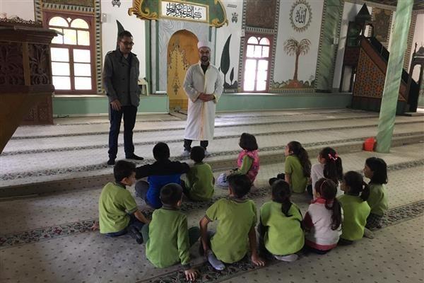 Öğrenciler, müftülük ve cami ziyaretinde bulundu