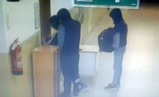 Okullara dadanan hırsızlar yakalandı