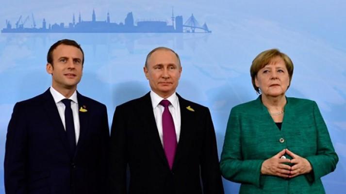 Putin, Macron ve Merkel 27 Ekim'de İstanbul'da!