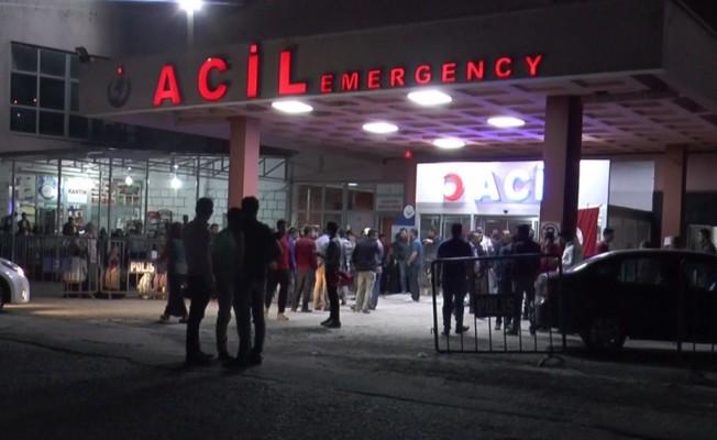 Şırnak'ta zırhlı araç devrildi: 12 yaralı