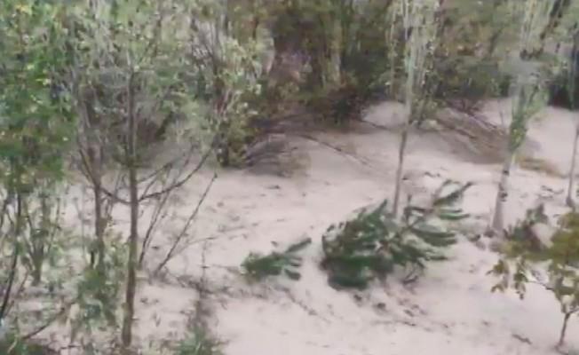 Sivas'ta tarım arazileri sular altında kaldı