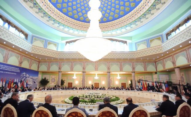 Tacikistan'da ŞİÖ 17. Hükümet Başkanları Zirvesi