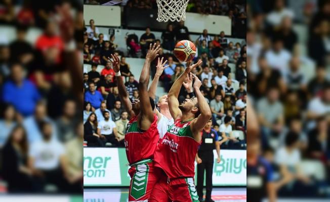 Tahincioğlu Basketbol Süper Ligi: Beşiktaş Sompo Japan: 61 - Pınar Karşıyaka: 57