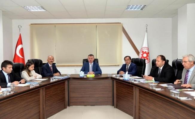 Tarıma Dayalı İhtisas Organize Sanayi Bölgeleri Toplantısı yapıldı