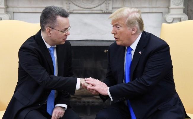 Trump, Rahip Brunson ile görüştü