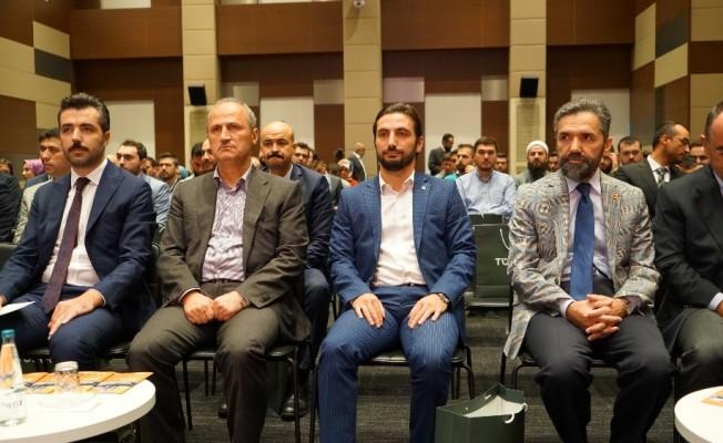 TÜGVA'nın düzenlediği Genç Yönetici Okulunda ilk dersi Bakan Turhan verdi