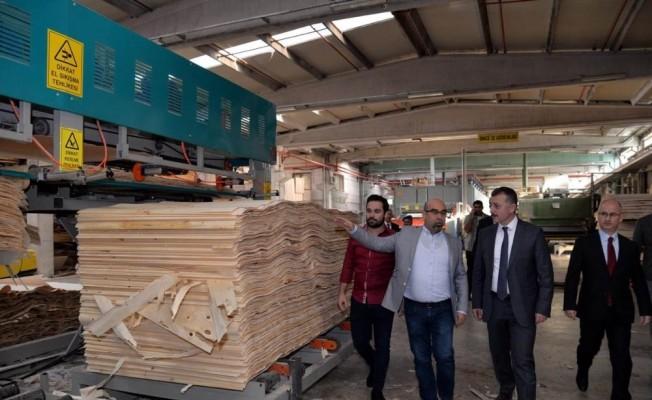 Vali Büyükakın fabrika ziyaretlerini sürdürüyor