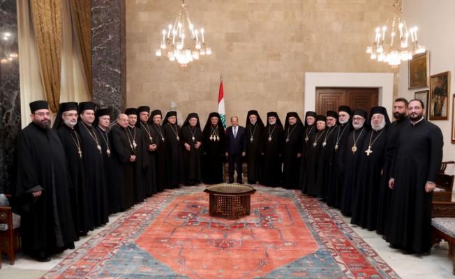 Lübnan Cumhurbaşkanı Avn'dan mülteci açıklaması