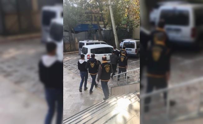 Malatya'da 9 evden hırsızlık yapan 3 zanlı tutuklandı