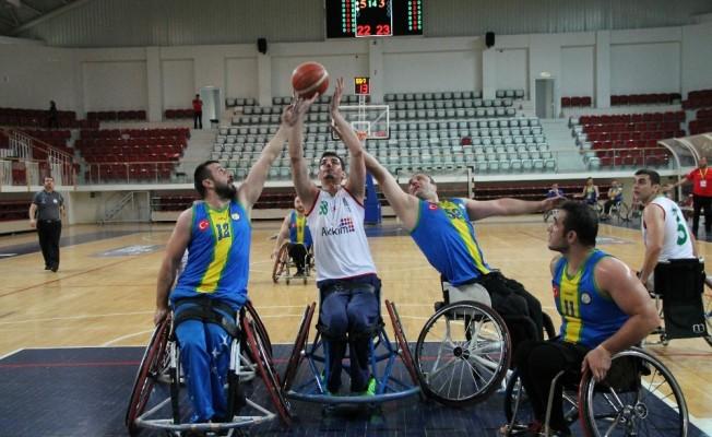 Tekerlekli Sandalye Basketbol Süper Ligi: YOSK: 53 - Altınordu Belediyesi: 63