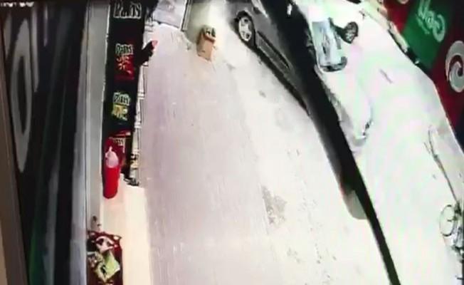 Zincirleme kaza kameraya yansıdı
