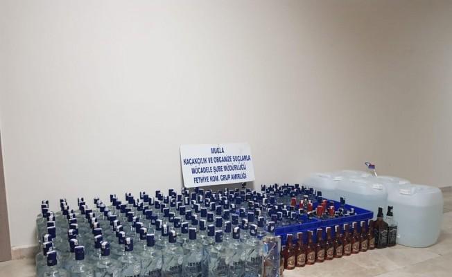Fethiye'de yeni yıl öncesi sahte içki operasyonu