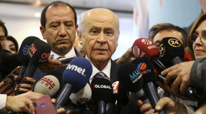MHP Genel Başkanı Devlet Bahçeli: Aday olursa başımızın üstünde yeri var