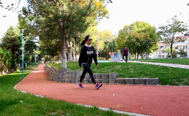 Petunya Parkı vatandaşların ilgi odağı