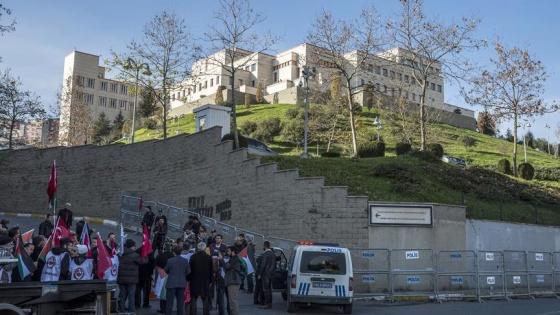 ABD'nin Kudüs kararı, İstanbul Başkonsolosluğu önünde protesto edildi