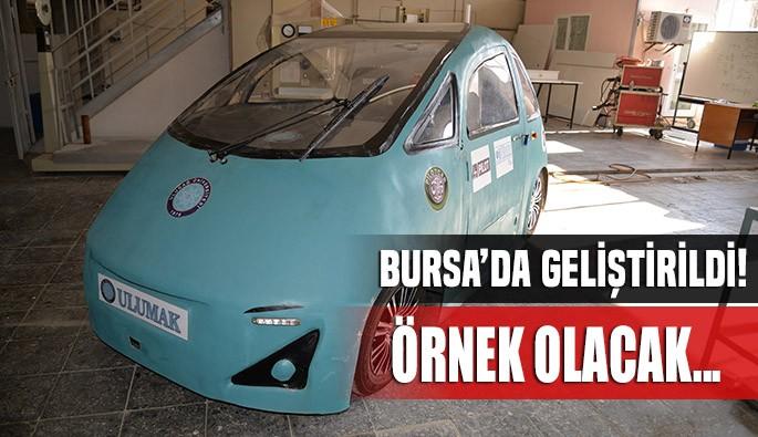Uludağ Üniversitesi mühendislik öğrencilerinden örnek araba