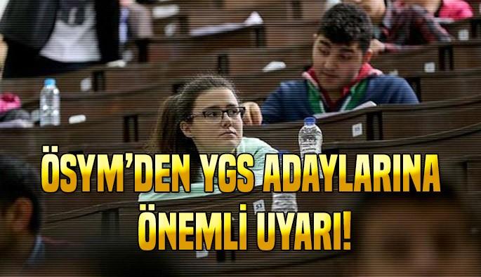 2017 YGS adaylarına ÖSYM'den geçici kimlik kartı duyurusu
