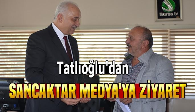 Tatlıoğlu'dan Sancaktar Medya'ya ziyaret