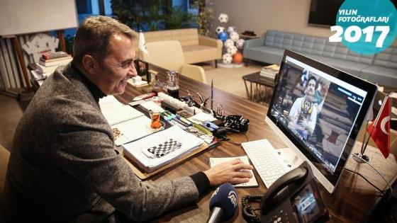 Beşiktaş Kulübü Başkanı Orman 'Yılın Fotoğrafları' oylamasına katıldı