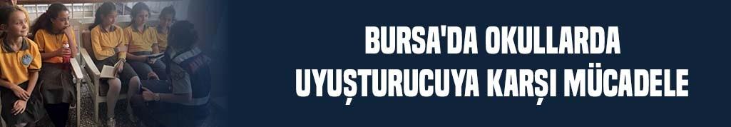 Bursa'da okullarda uyuşturucuya karşı mücadele