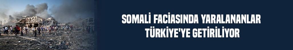 Somali faciasında yaralananlar Türkiye'ye getiriliyor