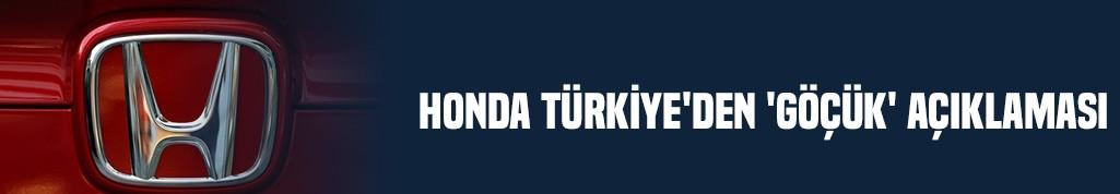 Honda Türkiye'den 'göçük' açıklaması