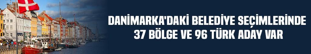 Danimarka'daki seçimlerde belediyelerde 37 bölge ve 96 Türk aday var