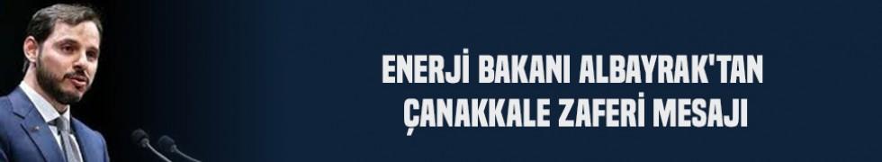Enerji Bakanı Albayrak'tan Çanakkale Zaferi mesajı