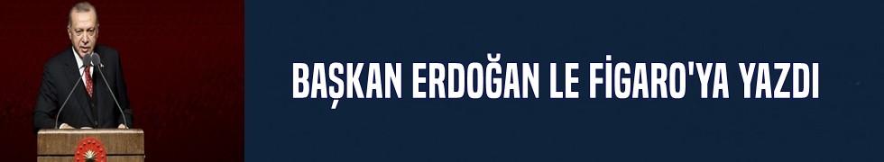 Cumhurbaşkanı Erdoğan Le Figaro'ya yazdı