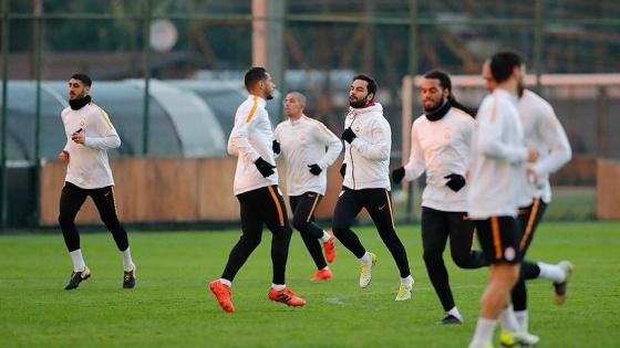 Galatasaray'da Evkur Yeni Malatyaspor hazırlığı