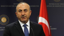 """Çavuşoğlu """"En iyi çözüm siyasi çözüm"""""""