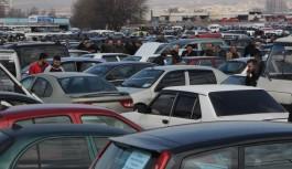 Bursa'da ikinci el otomobil pazarında bahar hareketliliği