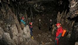 Büyükorhan'da yeni mağara bulundu