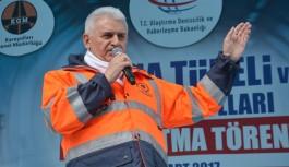 Zigana Tüneli'nin bitiş tarihini açıkladı