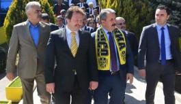 BBP Başkanı Mustafa Destici'den Ankaragücü'ne ziyaret