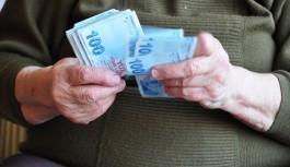 Emekliye toplu para